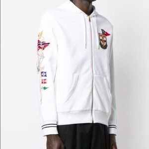 Polo Ralph Lauren Embroidered Patch Hoodie